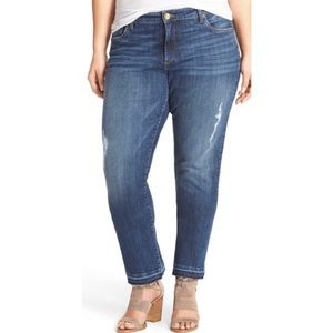 KUT from the Kloth Reese straight ankle jean 7752